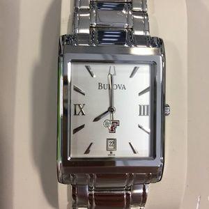 Fordham University Men's Stainless Bracelet Silver